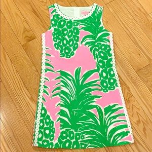 Lilly Pulitzer Pineapple Shift size 12